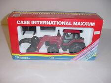 1/32 Case-IH Maxxum Tractor W/Front End Loader & Attachments by ERTL NIB!
