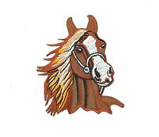 Patch patches embroidered iron on backpack biker horse biker motorcycle