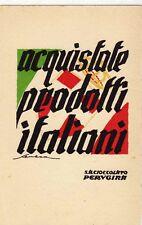 1920ca sa cioccolato perugina - acquistate prodotti italiani - ill. Seneca