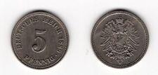 5 Pfennig 1889 A