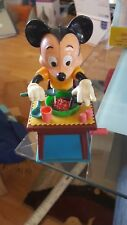 VINTAGE MICKEY MOUSE WIND UP TYPE TOY EATING SPAGHETTI DISNEY 60s ?