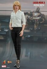 IRON MAN 3 - Pepper Potts 1/6th Scale Action Figure MMS310 (Hot Toys) #NEW