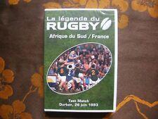 DVD LA LEGENDE DU RUGBY - AFRIQUE DU SUD / FRANCE - Durban , 26 Juin 1993  NEUF