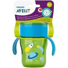 Philips Avent Bpa Free My First Big Kid Cup 360degree, 9m+ 9 Oz Green Scf782/53