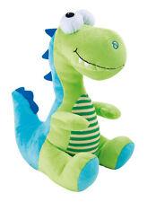 Kuscheltier Dino Grün Blau Dinosaurier Stofftier Plüsch Steinzeit Spielzeug Neu