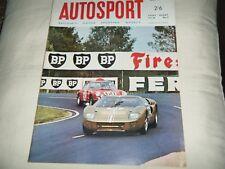 1967 AUSTRIAN GRAND PRIX ZELTWEG PAUL HAWKINS GT40 MRP PORSCHE CARRERA 6 BRADLEY