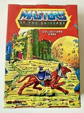Vintage 1984 Masters of the Universe He-Man Collectors Figure Case used