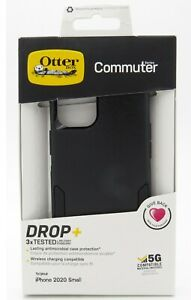 """Otterbox Commuter Series Dual-Layer Case for the iPhone 12 Mini 5.4"""" Black"""