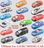 2016 190MM 1:10 RC Model Racing Car PVC Painted Body Shell+Rear Wing 28 Style