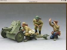 King & Country Stalingrad Ra010 Russian Soviet Red Army Anti Tank Bnib