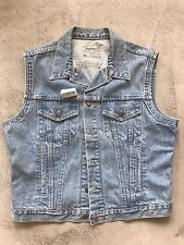 Levi Strauss Denim Vest 1980s Great Conditon Levis Jean jacket Blue Supreme LV