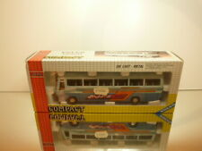 JOAL 149 VOLVO COACH - TRAVELS - BUS  - TWO TONE BLUE  1:50 - EXCELLENT IN BOX