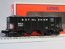 LIONEL BETHLEHEM STEEL COAL HOPPER CAR 6-84157 O GAUGE freight load 6-84160 NEW