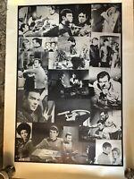 Vintage Star Trek Collage Poster 23x33.5