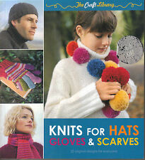 KNITS FOR HATS GLOVES AND SCARVES - Louisa Harding P/B 20 Knitting  Patterns