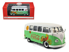 1959 VOLKSWAGEN T1 SAMBA BUS COCA COLA FLOWERS VERSION 1/43 DIECAST MCC 478064
