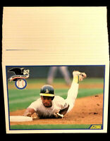 1990 Score #698 RICKEY HENDERSON ~ 20 CARDS LOT ~ HOF HALL OF FAME INDUCTEE