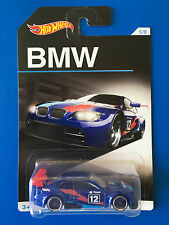 2016 Hot Wheels 100 YEARS OF BMW - 2010 BMW M3 GT3 RACING CAR mint on long card!