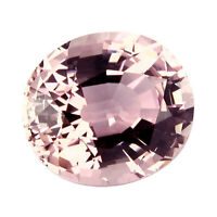 Flawless Tourmaline 13.06ct peach pink color 100% Natural earth mined Mozambique