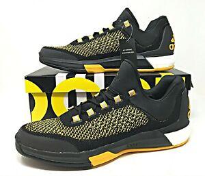 Adidas 2015 Crazylight Boost PK Low NCAA PE Black/Orange Mens Basketball Sz 13