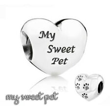 Pandora Genuine ALE 925 Silver My Sweet Pet Charm 791262 retired