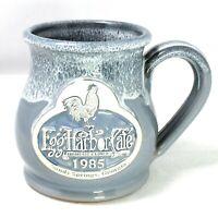 1985 Egg Harbor Café Sandy Springs Georgia 2012 Deneen Pottery Gray Coffee Mug