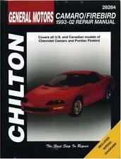 GM Camaro and Firebird, 1993-2002 (Haynes Repair Manuals) by Chilton