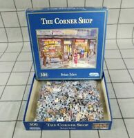 Gibsons Jigsaw Puzzle 500 Piece - The Corner Shop G857 By Brian Eden Complete