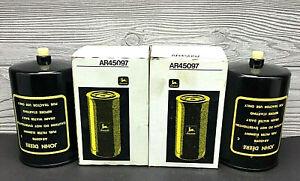 Lot Of 2 John Deere Diesel Fuel Filter Element AR45097 OEM NOS