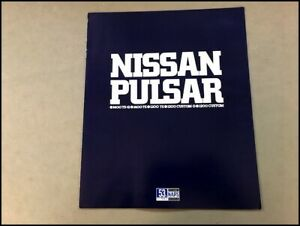 1978 Nissan Datsun Pulsar 310 Japanese Original Car Sales Brochure Catalog