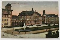 AK Frankfurt als Feldpost von Mannheim nach Cuxhaven 16.9.1915