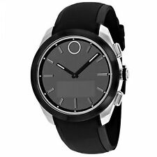 Movado Womens Bold Connected II Stainless Steel Bracelet Watch Black