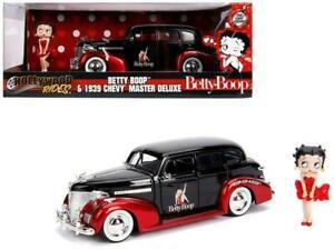 1:24 Betty Boop w/ 1939 Chevrolet Master Deluxe -- Hollywood Bombshells JADA