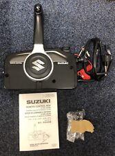 Marca nuevo soporte lateral de 4 tiempos Suzuki Fuera Borda mandos a distancia & Llaves/cordón