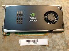 NVIDIA Quadro FX 1800 Graphics Card/ video card DP DDR3 768MB