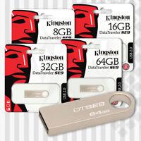 Kingston SE9 USB DataTraveler Flash Memory Pen Data Drive 16GB 32GB 64GB 128GB