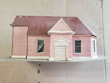 Vintage HO Cardboard Church (missing the steeple)