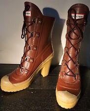 "Hunter Rain Boots Womens Rubber Boots ""Gabby"" Size 9 EU 40 RARE"