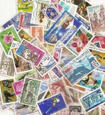 LOT 100 TIMBRES FRANCE OBLITERES TOUS DIFFERENTS