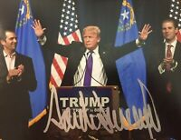 Donald Trump Autographed Signed 8x10 Photo REPRINT