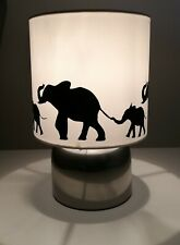Elephant silhouette Touch lamp -3 settings