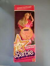 VINTAGE  1976  MATTEL  SUPERSTAR  BARBIE  WITH STAR NECKLACE NIB