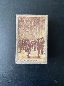 Boîte de plumes Sergent-Major «Alsace, 1915»