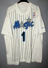 ORLANDO MAGIC #1 PENNY HARDAWAY NBA BASKETBALL SHIRT JERSEY CHAMPION SIZE L