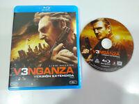 Venganza 3 Liam Neeson Version Extendida - Blu-Ray + Extras Español Ingles