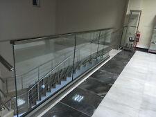 Ganzglasgeländer Balkongeländer Terrassengeländer für ESG -VSG Glas