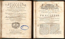 1772, Fulgentio Cuniliati - Universae theologiae moralis - Capitoli Censure