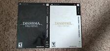 Final Fantasy Dissidia Promo Slipcovers PSP Game Case Pre-Order Bonus New
