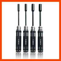 H1 4PCS RC Repair Tools Flat Head Hex Screw Drivers 4.0/5.5/7.0/8.0Mm Kit For Ca
