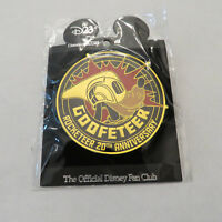 Disney D23 Rocketeer 20th Anniversary Celebration Goofeteer Pin